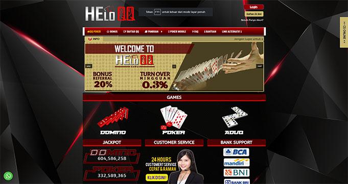 HeloQQ Situs Poker Online Terpopuler Indonesia 2020